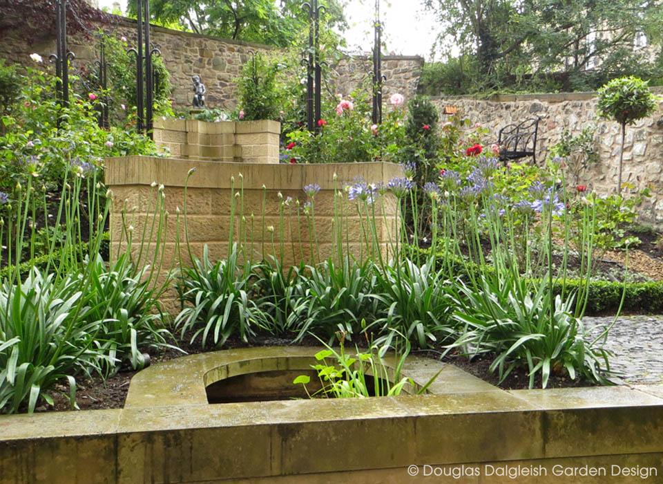 Douglas dalgleish garden design a garden of place and for Garden design edinburgh